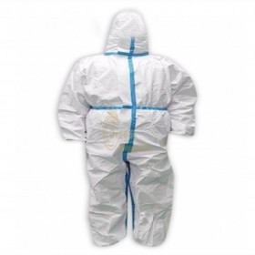 SKPC016   Customized disposable isolation overalls design hoods