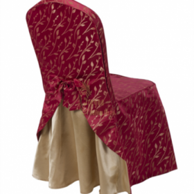 SC008   Self made hotel chair cover style