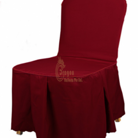 SC014   Make hotel dining chair cover style