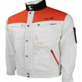 D233 Deliver to Napier Customized long sleeve industrial uniform