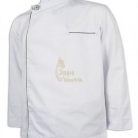 KI103  Custom made white Chef Uniform